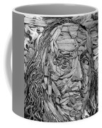 Ben In Wood B W Coffee Mug