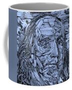 Ben In Wood Cyan Coffee Mug