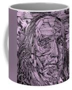Ben In Wood Pink Coffee Mug