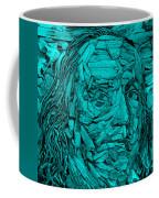 Ben In Wood Turquoise Coffee Mug
