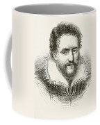 Ben Jonson 1572 To 1637. English Coffee Mug