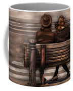 Bench - A Couple Out Of Time Coffee Mug