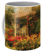 Bench - The Rose Garden Coffee Mug
