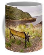 Bench At The Bay Coffee Mug