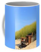 Bench At The Beach Coffee Mug