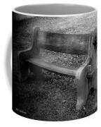 Bench By The Barn Coffee Mug