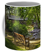 Bench By The Stream IIi Coffee Mug