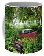 Bench In Prescott Park Coffee Mug