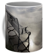 Bench In The Clouds Coffee Mug