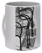 Bench Shadows Coffee Mug