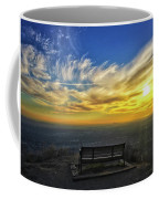 Bench With A View Coffee Mug