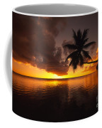 Bending Palm Coffee Mug