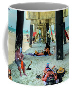 Beneath The Jacksonville Beach Pier  Coffee Mug