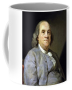 Benjamin Franklin Painting Coffee Mug