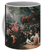 Benjamin West Coffee Mug by The Death of Nelson
