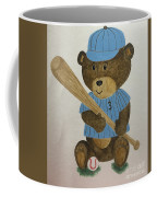 Benny Bear Baseball Coffee Mug
