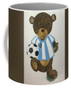 Benny Bear Soccer Coffee Mug