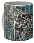 Bent Heavy Wire Coffee Mug