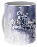 Benz 60hp Targa Florio Rennwagen 1907 Coffee Mug