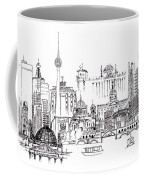 Berlin Medley Monochrome Coffee Mug