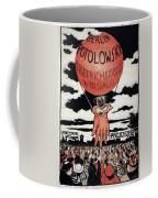 Berlin Potolowsky - Friedrichstrass Passage - Germany - Retro Travel Poster - Vintage Poster Coffee Mug