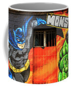 Berlin Wall Monsta Door Coffee Mug