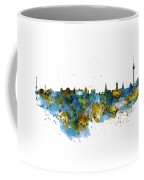 Berlin Watercolor Skyline Coffee Mug