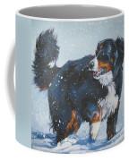 Bernese Mountain Dog In Drift Coffee Mug