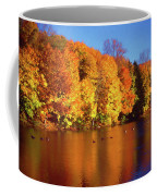 Bernharts Dam Fall 008 Coffee Mug