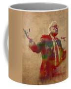 Bernie Sanders Watercolor Portrait Coffee Mug