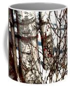 Berries And Birches Coffee Mug