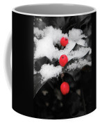 Berries In Snow Coffee Mug