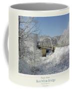 Bert White Bridge Poster Coffee Mug