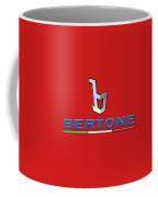 Bertone 3 D Badge On Red Coffee Mug
