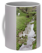 Beside The Still Waters Percherons Coffee Mug