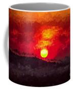 Beskidy Sunset Coffee Mug