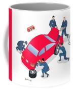 Best Car Service Center In Gurgaon Coffee Mug