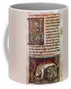 Bestiary: Lion Coffee Mug