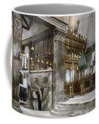 Bethlehem - Inside Nativity Church 1890 Coffee Mug