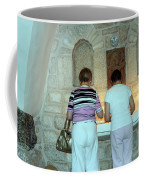 Bethlehem - Milk Grotto Church Lighting Candles Coffee Mug
