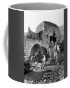 Bethlehem - Nativity Scene Year 1900 Coffee Mug