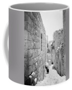Bethlehem - Old Woman Walking 1933 Coffee Mug
