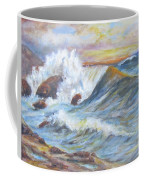 Beth's Sea Coffee Mug by Caroline Owen-Doar