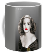 Bette Davis Draw Coffee Mug