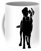 Better Black Lab Design Coffee Mug