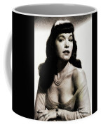 Bettie Page, Pinup Model Coffee Mug