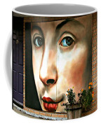 Between Closed Doors Coffee Mug
