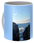 Between The Crack 2 Coffee Mug