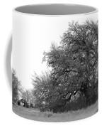 Between Two Trees Coffee Mug