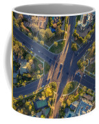 Beverly Hills Streets, Aerial View Coffee Mug